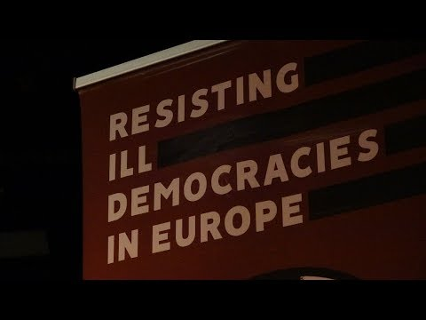 Resisting Ill Democracies in Europe conference in Budapest  english version
