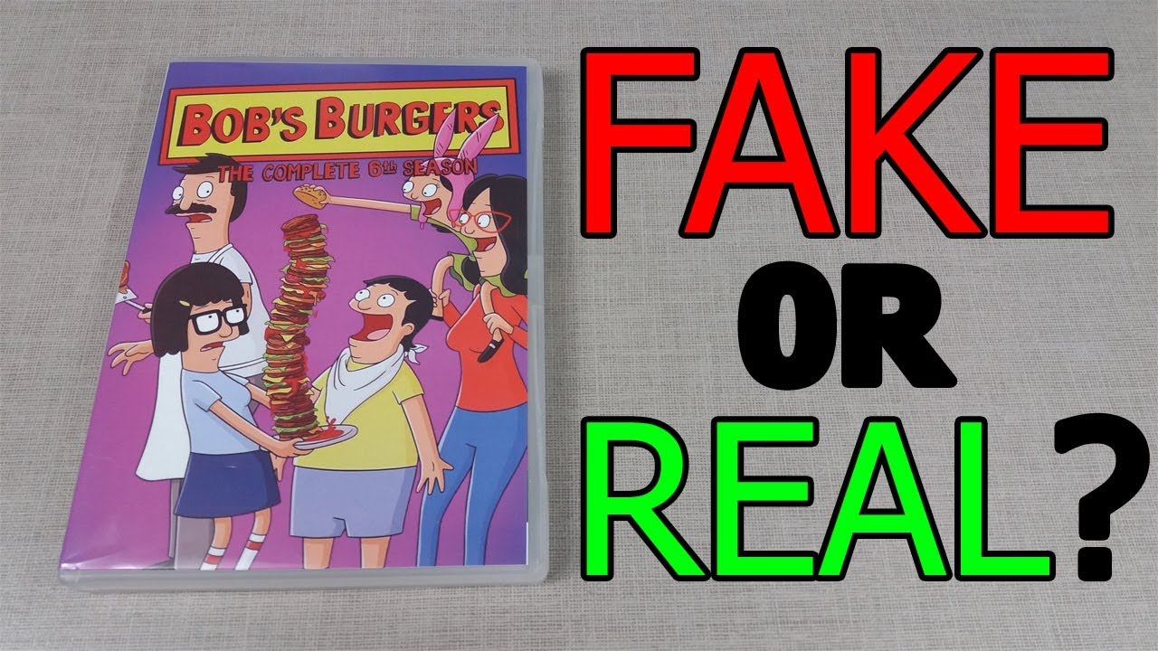 fake or real bob s burgers season 6 dvd discussion youtube