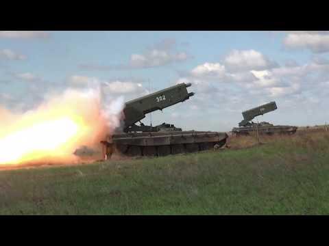Учение горных мотострелков на Кубани по организации маневренной обороны