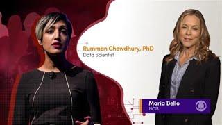 Women's History Month: Rosalyn LaPier, Olivia Hallisey and Rumman Chowdhury