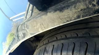 Снятие заднего бампера Chevrolet Aveo Т300