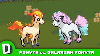Ponyta Meets His Galarian Form