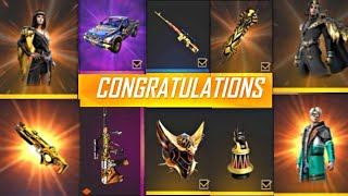 GARENA FREE FIRE NEW EVENTS , GUN SKIN AND FREE FIRE NEW UPDATE || Captain gamer