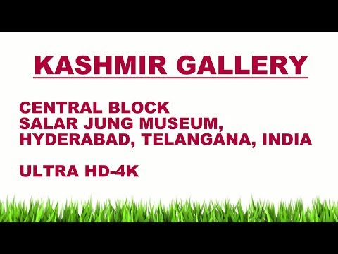INDIAN TEXTILE & MOGHAL GLASS GALLERY( 63 ULTRA HD-4K STILL PHOTOS) , SALAR JUNG MUSEUM from YouTube · Duration:  3 minutes 21 seconds
