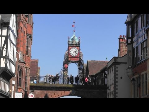The UK Today - Chester City Centre..The Rows...Cheshire, England