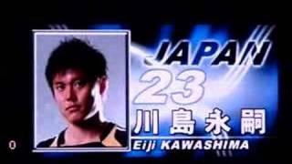 2007/6/1 KIRIN CUP JAPAN vs MONTENEGRO