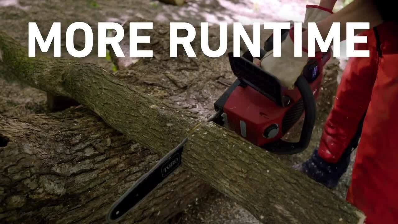 Take Charge of Fall Clean-Up with Toro's 60V Chainsaw