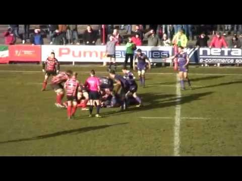 Rowan Jenkins Breaks To Setup Joe Gage Try