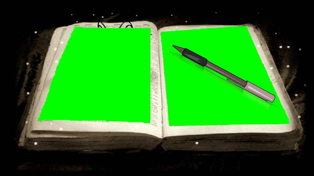 animated book opening green screen effect free download