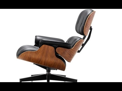 How Are Chairs Made Swivel Glider Chair Slipcover An Eames Lounge Is Brandmadetv Youtube