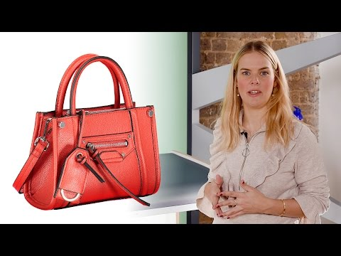 How To Photograph A Handbag And Backpack On Tabletop