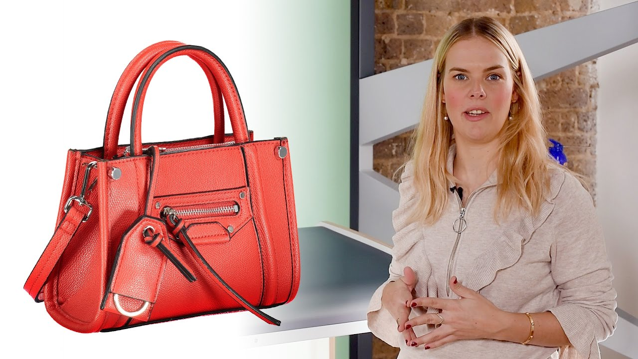 1b48433f40a9 How To Photograph A Handbag And Backpack On Tabletop - YouTube