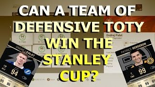 Can a Team of ALL DTOTY Players Win the Stanley CUP?? NHL 17