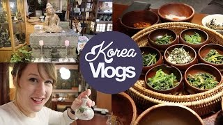 Korea Vlog 1: Sanchon, Vegetarian Restaurant in Seoul