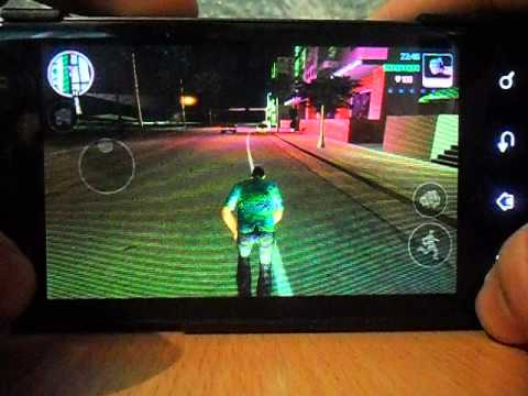 Grand Theft Auto Vice City Android On LG P990