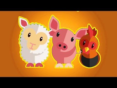 Canciones Infantiles de la Granja - La Vaca Lola, Yncy Wyncy, Los Polllitos y más