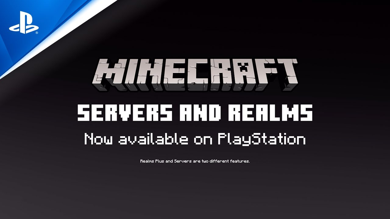 Download Minecraft - Servers and Realms Launch Trailer | PS4