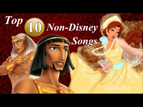Top 10 Best NonDisney Songs {of all time}