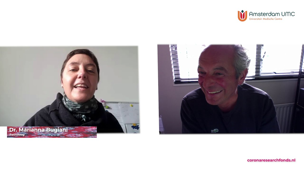 Corona Research Fonds - Marianna Bugiani - Update - YouTube