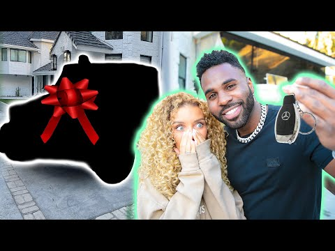 He Surprised Me With My DREAM CAR  | Jena Frumes & Jason Derulo