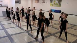 Видео-урок (I-семестр: декабрь 2017г.) - филиал Червишевский, группа 5-8 лет, Современный танец