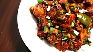 Schezwan Potatoes | Indo Chinese Starter Recipe | Ruchi's Kitchen