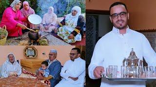 الإحتفال بالمولد النبوي الشريف مع عائلة لالة حادة