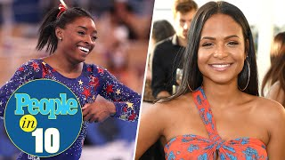 Simone Biles Exits Individual All-Around Final Plus Christina Milian Joins Us | PEOPLE in 10