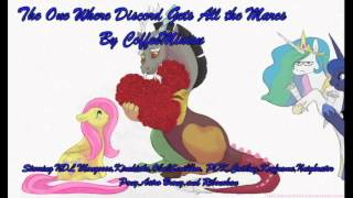 (Month of Lurve) The One Where Discord Gets All the Mares Fanfic Reading
