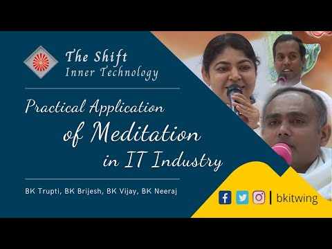 "Pannel Discussion - Q & A "" Practical Application Of Meditation in IT Industry "" - 08/01/2018"