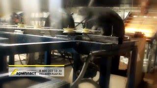 Узел намотки периодического профиля и скрутчик нитей ровинга(Вы можете купить узлы линий для производства стеклопластиковой арматуры Армпласт по тел. 8 800 222 10 20. На данно..., 2016-05-18T14:34:48.000Z)