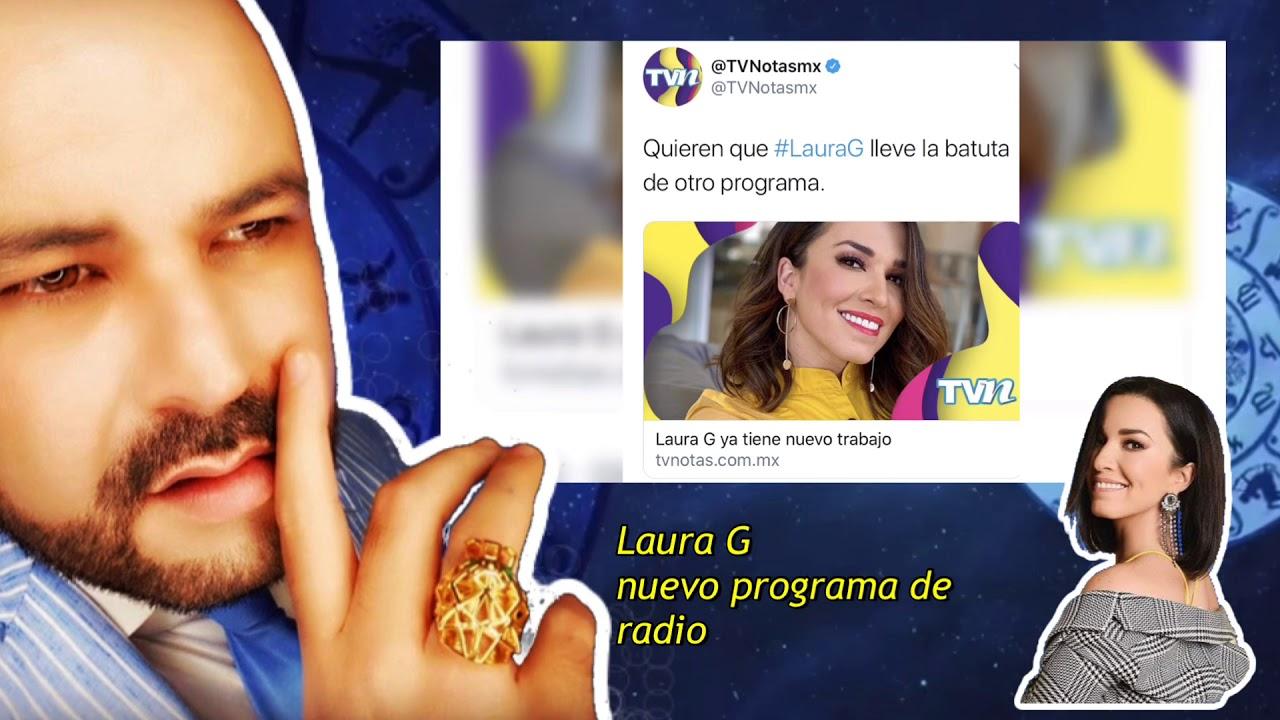 Laura G  nuevo programa de radio 
