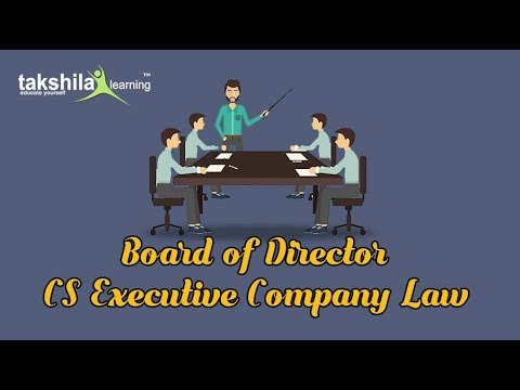CS Executive Company Law Board of Director | CS Video Lectures | CS Online Classes