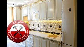 видео Кухонный комод в классическом стиле