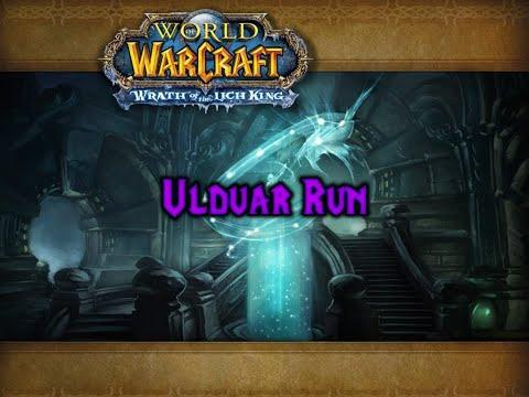 Full Ulduar run + Algalon Quest Chain with Retribution Paladin