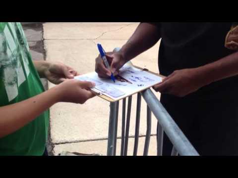 San Francisco Giants Prospect - Jose Valdez - Signing autog