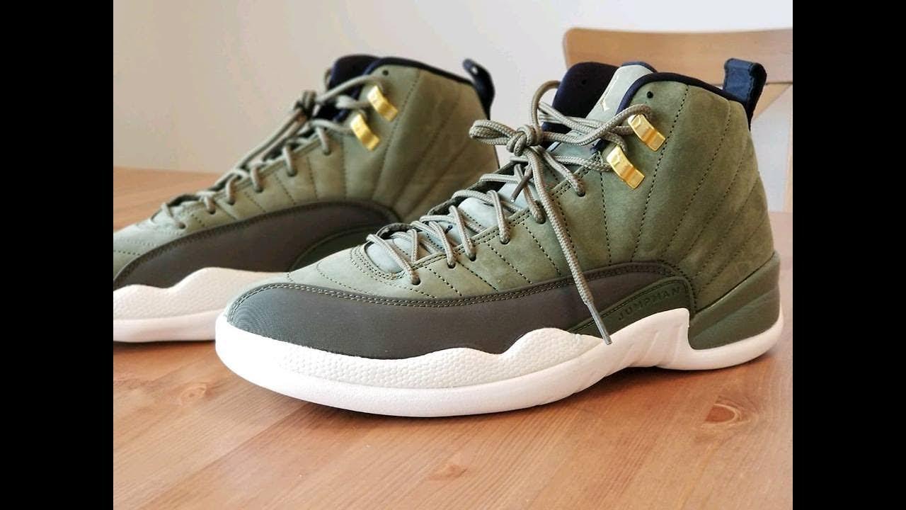 Air Jordan 12 CP3  Olive Canvas  - YouTube 0f3bb46fa