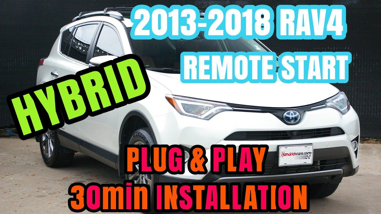 small resolution of 2013 2018 toyota rav4 pts plug and play remote start kit v2 1 12volt solutions