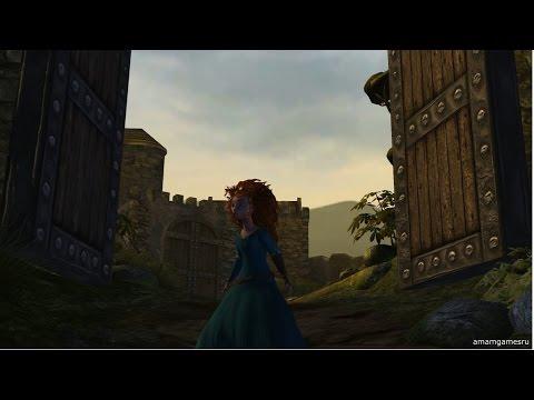 Храбрая сердцем Disney Pixar Brave The Video Game часть первая