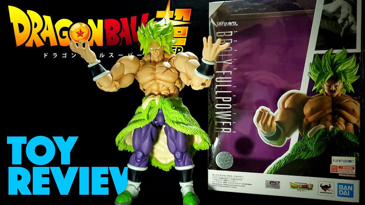 Unboxing S H Figuarts Super Saiyan Broly Full Power Dragon Ball Super Action Figure Review Youtube