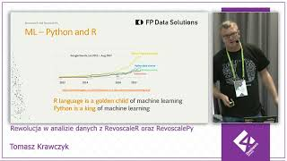 4Developers Katowice: Rewolucja w analizie danych RevoscaleR i RevoscalePy, Tomasz Krawczyk