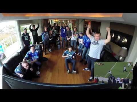 Super Bowl 48- 12th Man Reactions