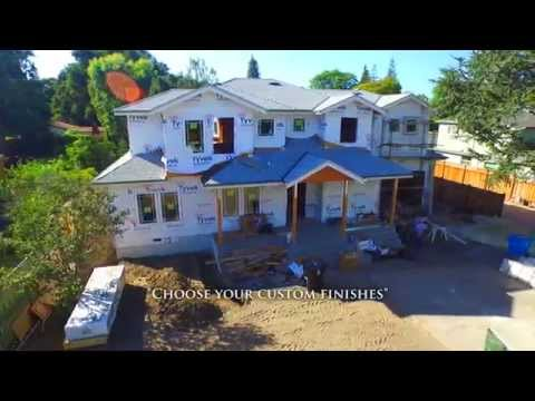 161 Willow Road -  Menlo Park, CA by Douglas Thron drone real estate video tours
