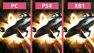 Star Trek Online – PC vs. PS4 vs. Xbox One Graphics Comparison