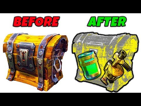 X-RAY VISION Added To FORTNITE, Get A FREE SKIN, RIP Shopping Car (HUGE PATCH UPDATE) | Chaos