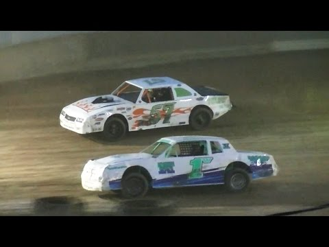 Pure Stock Feature   Old Bradford Speedway   7-17-16