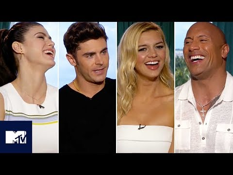 Baywatch Cast Reveal Funniest PENIS Moments BEHIND THE SCENES | MTV