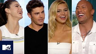 Baywatch Cast Reveal Funniest PENIS Moments BEHIND THE SCENES | MTV Movies