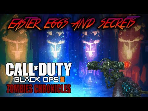 Origins - All Easter Eggs and Secrets Walkthrough (Black Ops 3 Zombies Chronicles) - 동영상