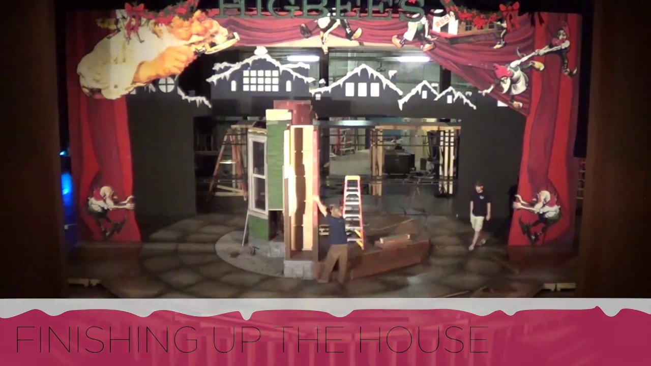 a christmas story set build timelapse - What Year Is Christmas Story Set
